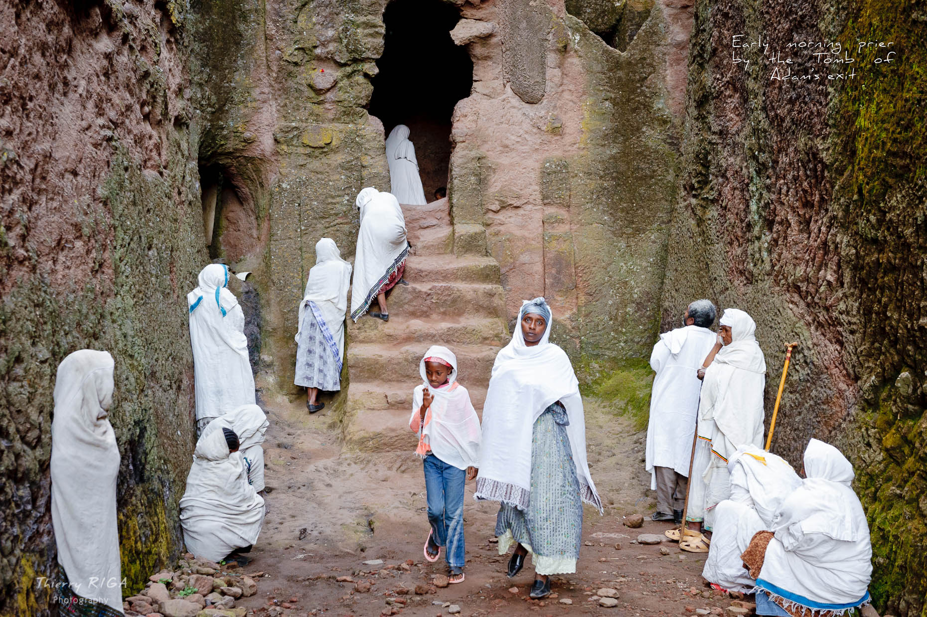 Lalibela tomb of adam maze women eyes