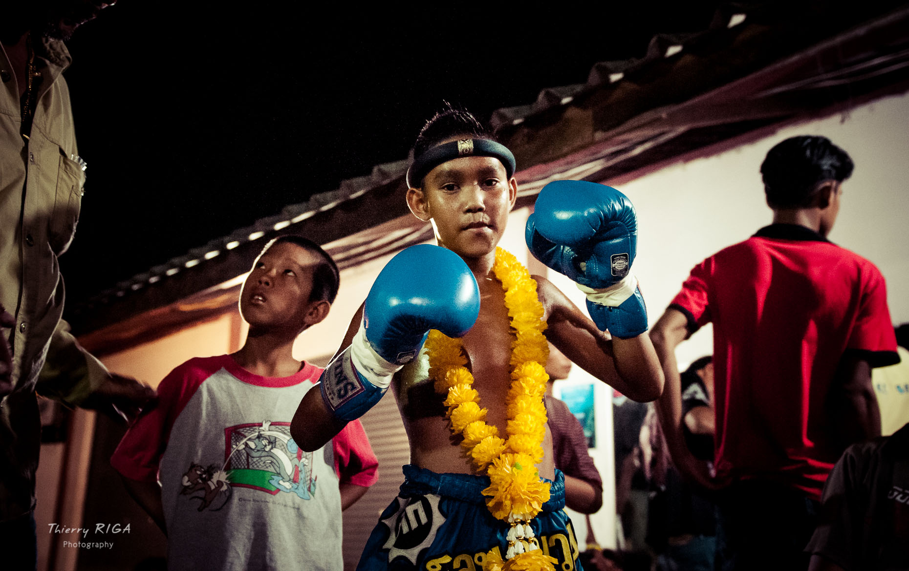 Muay Thai boxing kid thailand